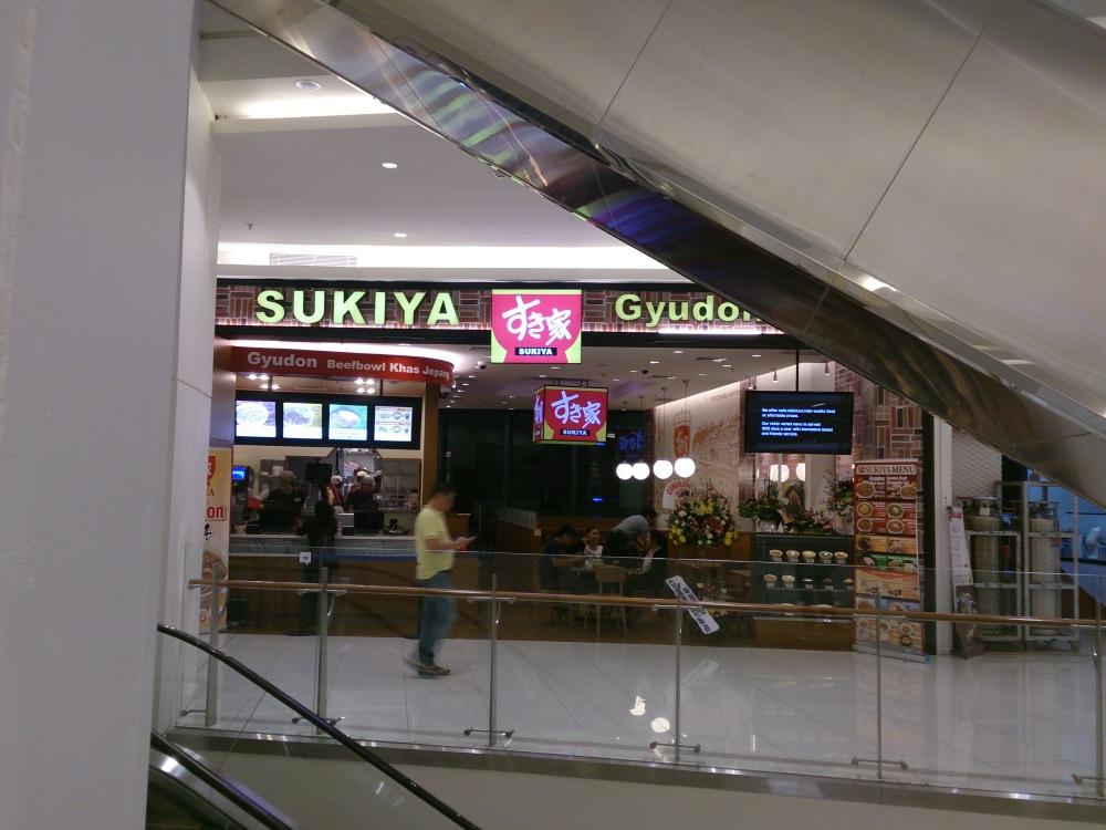 Sukiya Gyudon Baywalk Mall Outlet