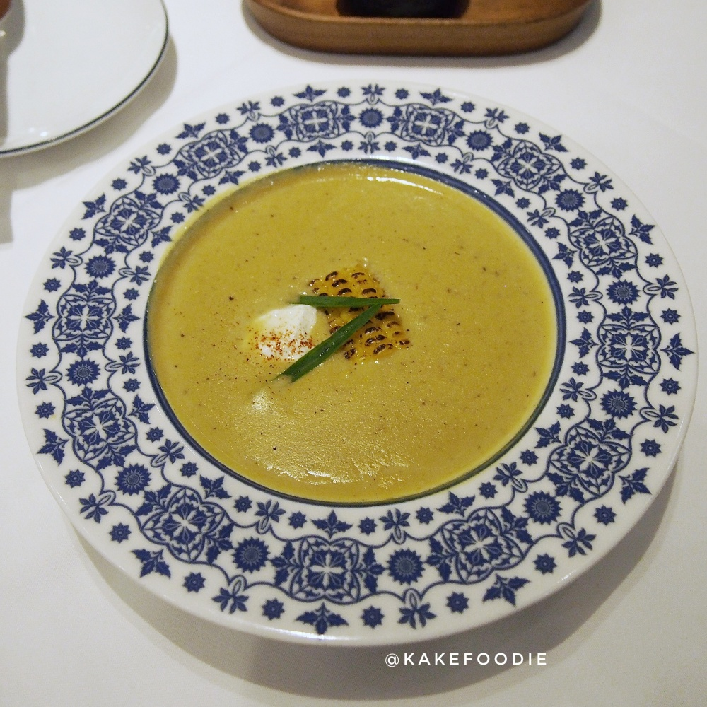 Sweet Corn Soup with Crab Meat - THB 280++