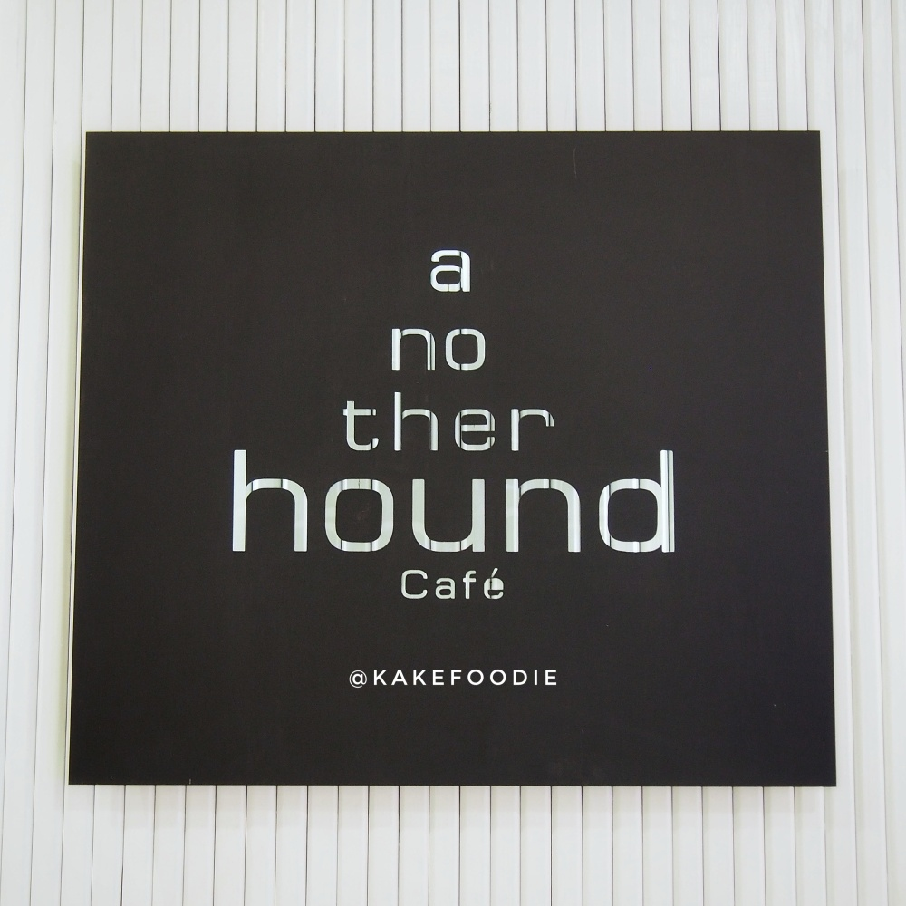 Another Hound Cafe by Greyhound Cafe Sign