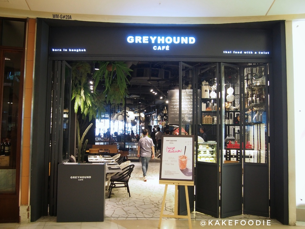 Entrance Greyhound Cafe