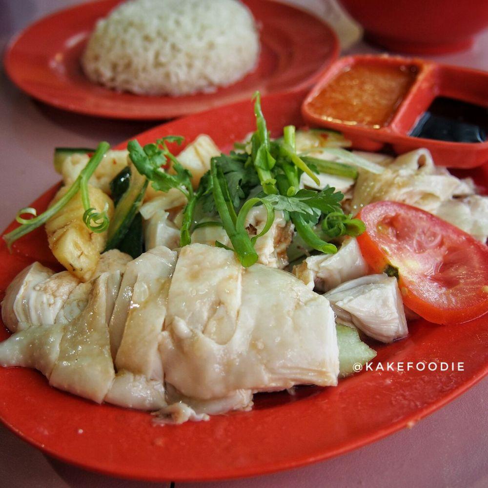 Zi Jin Cheng Hainanese Chicken Rice